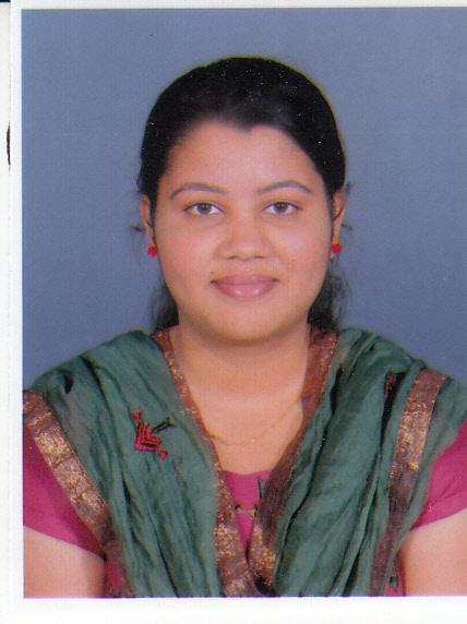 Miss. Kirti Chandrashekhar Mane